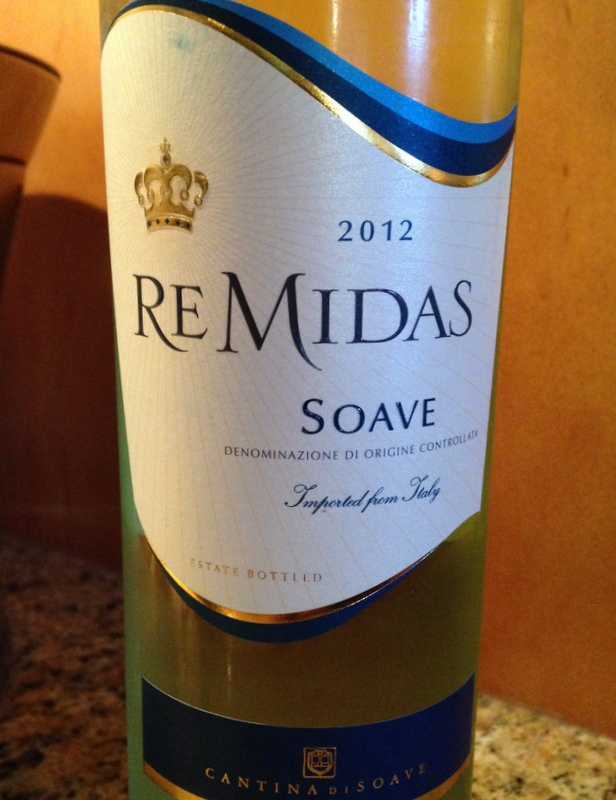 ReMidas Soave wine