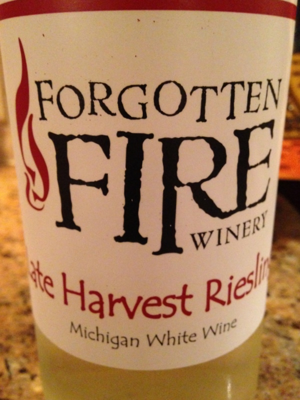 Forgotten Fire Late Harvest Riesling