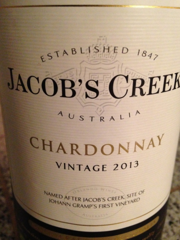 Jacob's Creek Chardonnay 2013