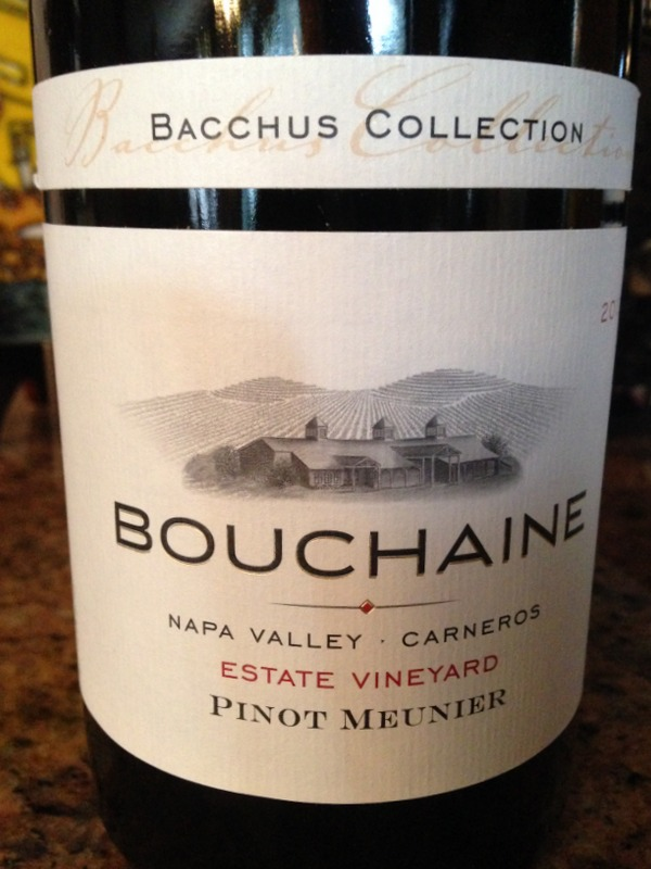Bouchaine Estate Vineyard Pinot Meunier