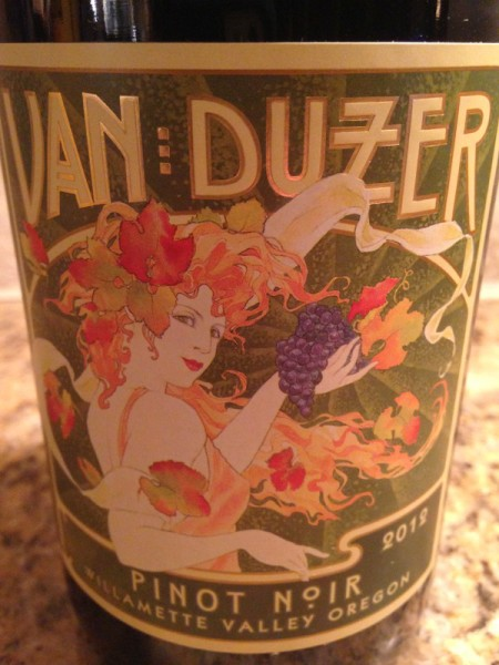 2012 Van Duzer Willamette Valley Pinot Noir
