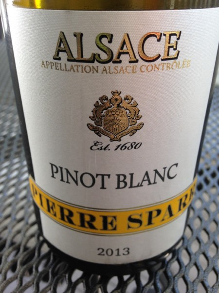 Pierre Sparr Pinot Blanc 2013