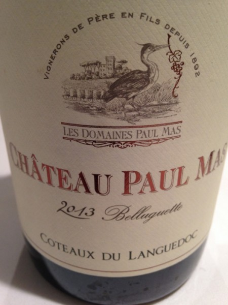 Chateau Paul Mas Belluguette 2013