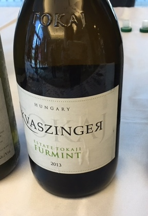 white wines - furmint