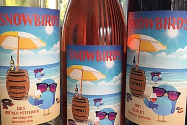 Snowbirds wine - Fun!