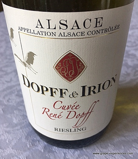 Alsace Dopff & Irion Cuvee Rene Dopff Riesling